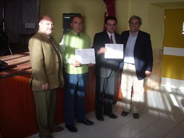 Entrega de certificación LEM. Collipulli