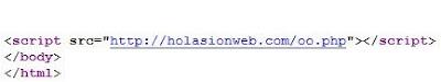 Malicious Script Code