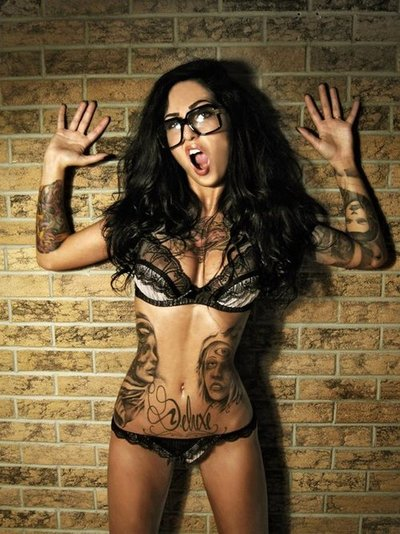 Painted Ladies - Miss Tattoo