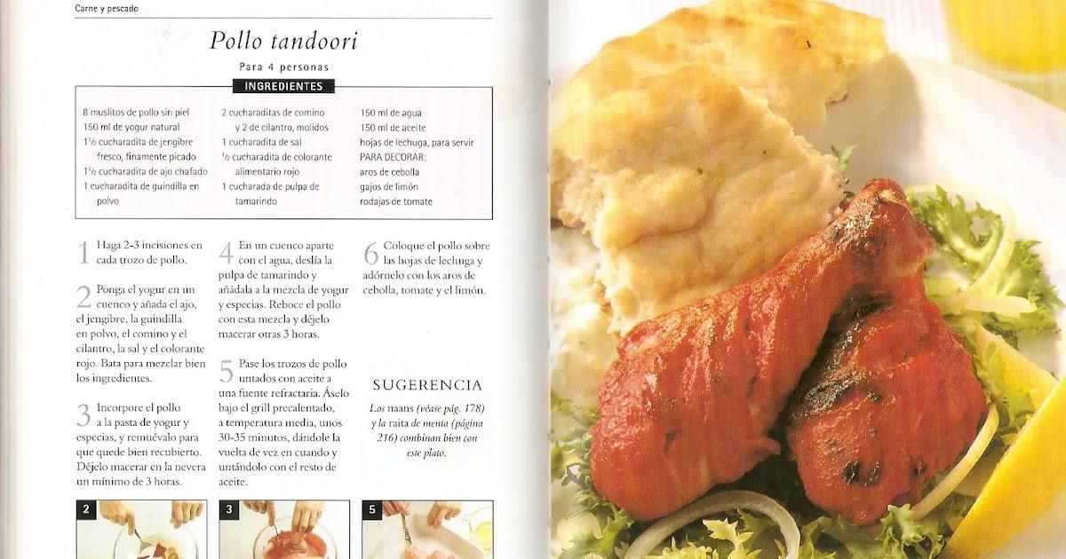 Pollo Tandoori. | Cocina Hindú
