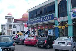 Kami bersebelahan Masjid Darulaman..Jitra, Kedah