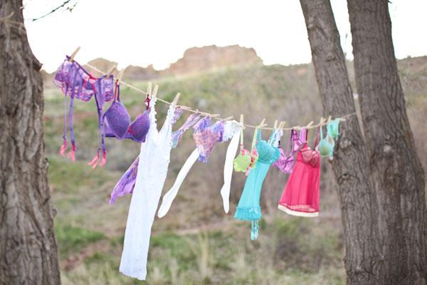 Lingerie Bridal Shower Decorations