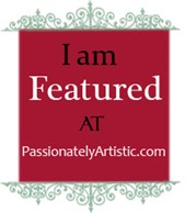 I am Featured at PassiontaelyArtistic.com, June 2012 !!!