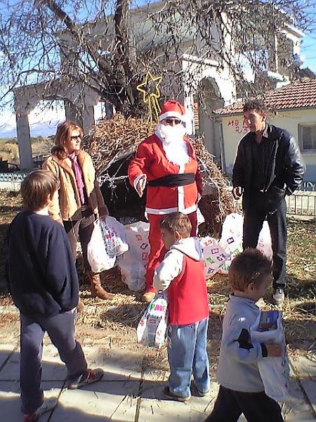 Άγιος Βασίλης Γιαννωτά – St. Claus in Giannota.