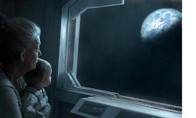 Resultado de imagen de Inmensas naves para escapar de la Tierra