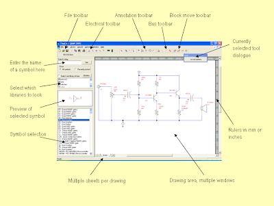 Programas para dibujar circuitos electronicostodointeresante for Programas para dibujar