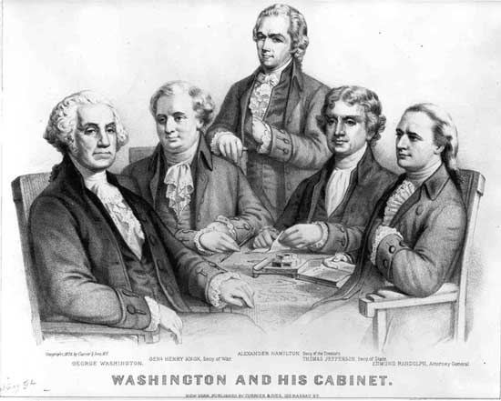 the role of thomas jefferson and alexander hamilton in the creation of the american constitution It says, although thomas jefferson was in france serving as united states minister when the federal constitution was written in 1787, he was able to influence the development of the federal .