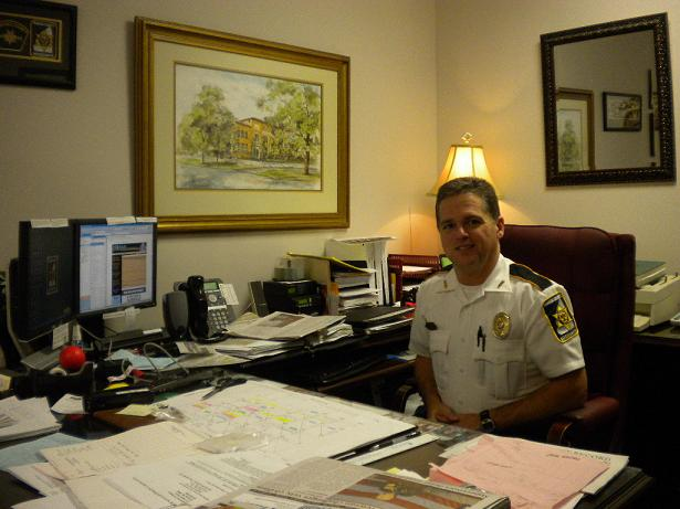 Undersheriff Bryan Bailey is second in command and responsible for the