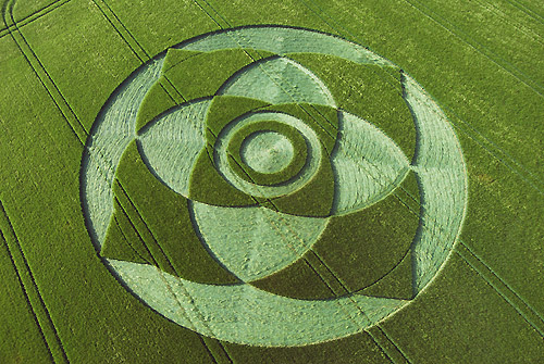 Indonesia Crop Circle. +indonesia+crop+circle