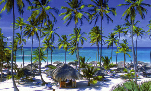 Beautiful Punta Cana beach