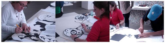 workshop Ilustradores de João Guimarães Rosa sesc Campinas 2008