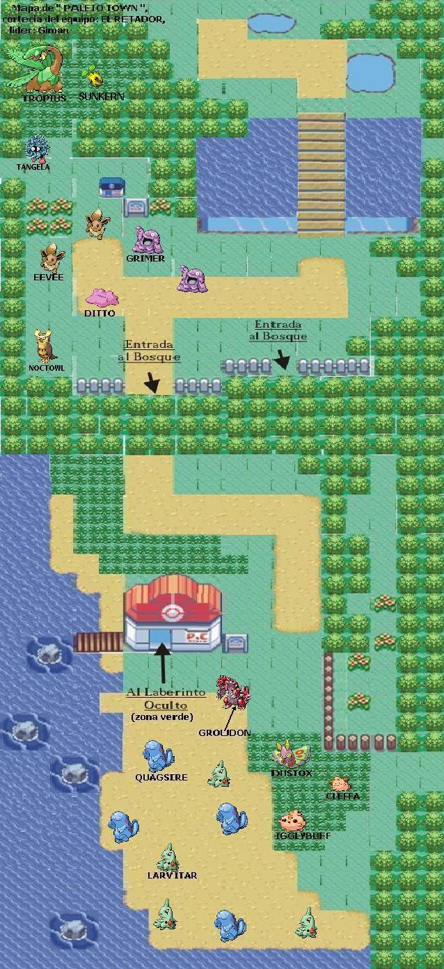 mapas de pokemon negro Paleto%2Btown
