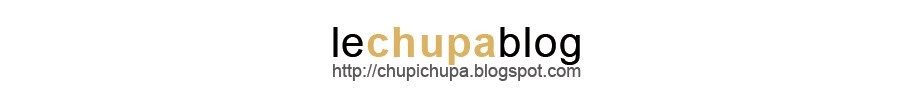 le chupa blog