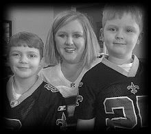 Peyton, Kellie, Landon GEAUX SAINTS!