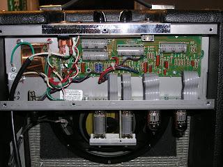Fender Pro Junior Mod Inside