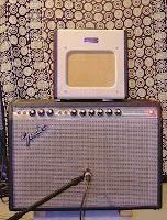 Fender Champion 600 with Deluxe Reverb speaker response