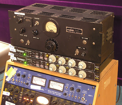 Federal Televison Corporation Tube Limiter Amplifier at Kissy Pig Studios