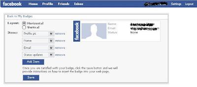 Badge Facebook untuk tutorial dan tips