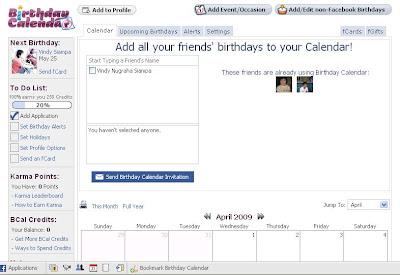 Calendar Facebook tips and tutorials