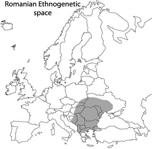 Spaţiul etnogenetic românesc