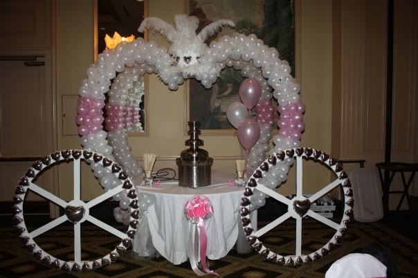 Bama Balloons  Fairy Tale Wedding