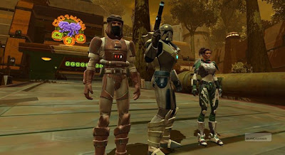 Star Wars: The old Republic - Species and Specializations