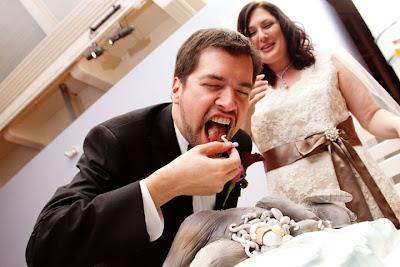 Dead Tauntaun Wedding Cake!