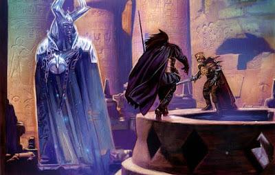 Naga Sadow duels Ludo Kressh for the mantle of Dark Lord.