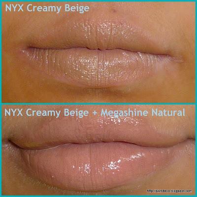 Requested Elf Lippies Swatches. NYX Lippies: Round Lipsticks