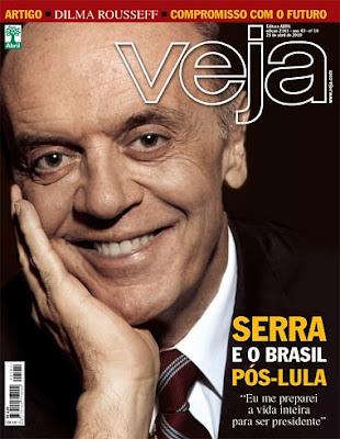 Serra Cafetão capa da revista Veja
