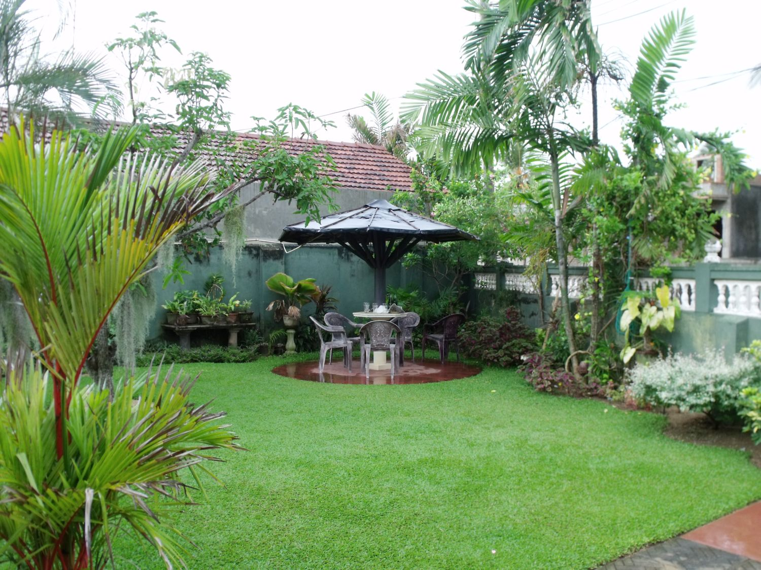 Philipveerasingam a home garden in duwa negombo sri lanka for Best home garden design