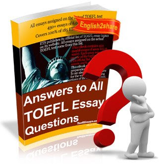 answers all toefl essay questions Online download answers to all toefl essay questions answers to all toefl essay questions bring home now the book enpdfd answers to all toefl essay questions to be.