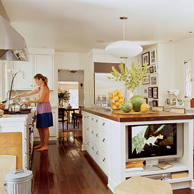 Island Kitchens on Lovely Influence  Kitchens