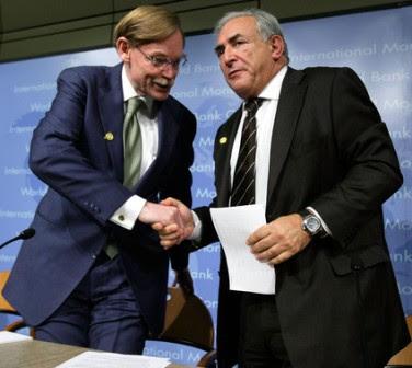 Világbank és IMF vezetők meetingje
