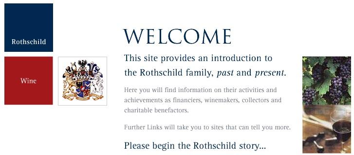 Hivatalos Rotschild family oldal