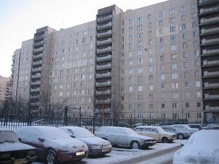 Городской многоэтажный дом