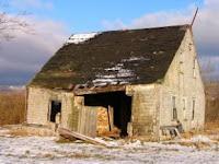 Старый дом, много повидавший на своем веку