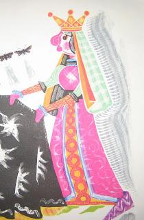 Жена короля Дореми - королева Фасоль. Запоминаем названия нот