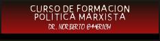 FORMACION POLITICA