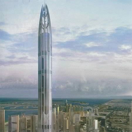 New tower in the Emirates — Nakheel Tower