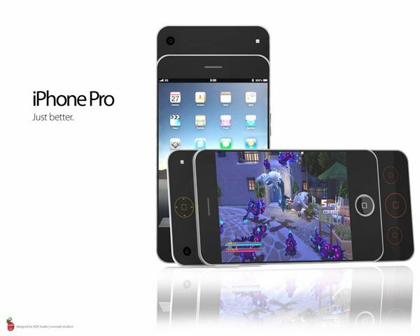 iPhone Pro — Another concept smartphone in the form of a slider