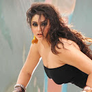 Namitha in Black  Spicy Pics