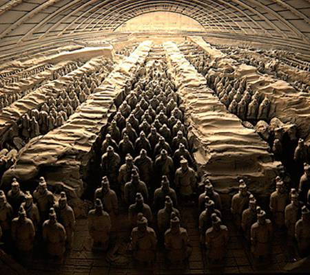 Mausoleum of Qin Shi Huangdi Photo from Fraggle Rockstar