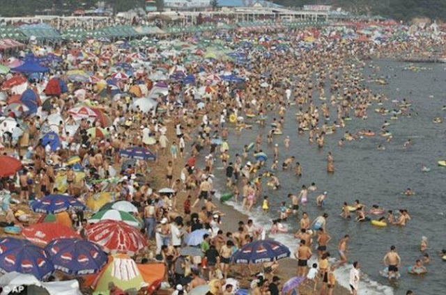 A Beach in the China