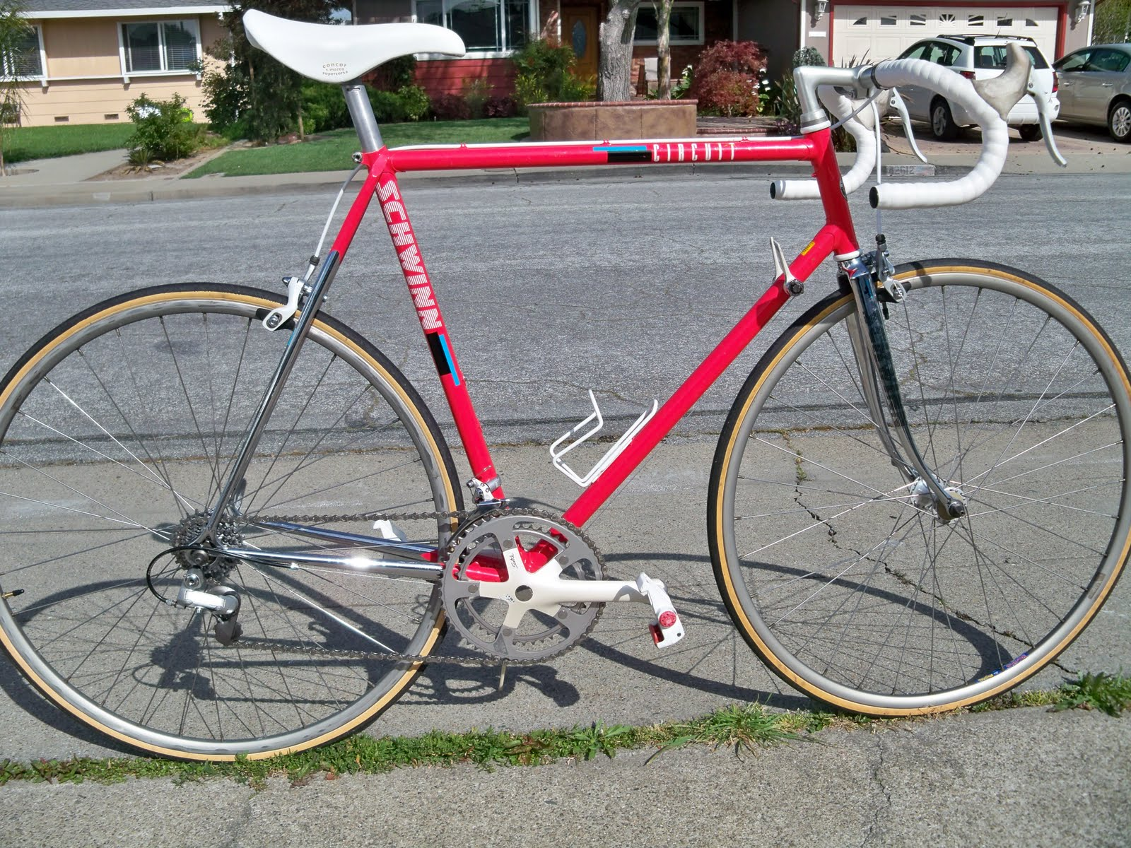 5522f327830 80's Vintage Parts and Restorations: Finally! 1988 Schwinn Circuit ...