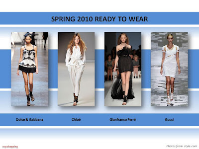 Spring 2010 Ready To Wear shoes booties sandals Dolce Gabbana Chloe