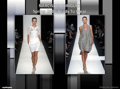 Narciso Rodriguez Spring 2010 Ready To Wear dress