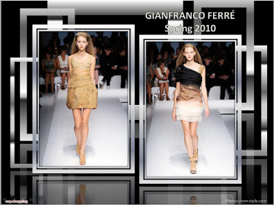 Gianfranco Ferre Spring 2010 Ready To Wear dress
