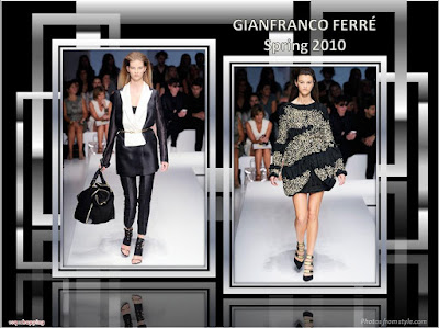 Gianfranco Ferre Spring 2010 Ready To Wear tuxedo jacket and coat