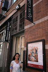 """Con mis obras en """"Agora Gallery NUEVA YORK"""""""